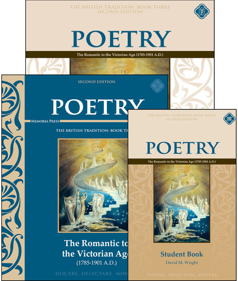 Poetry book three the romantic to the victorian age set for Motor age training connect