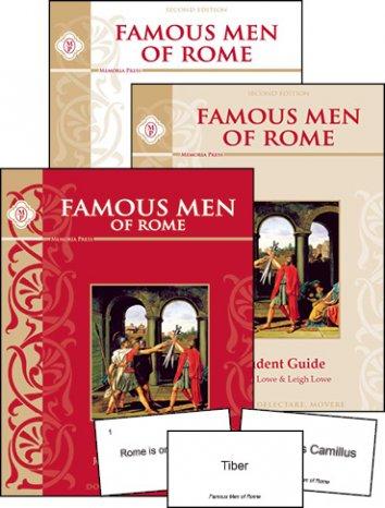 Famous Men of Rome Set