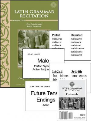 Latin Grammar Recitation Set