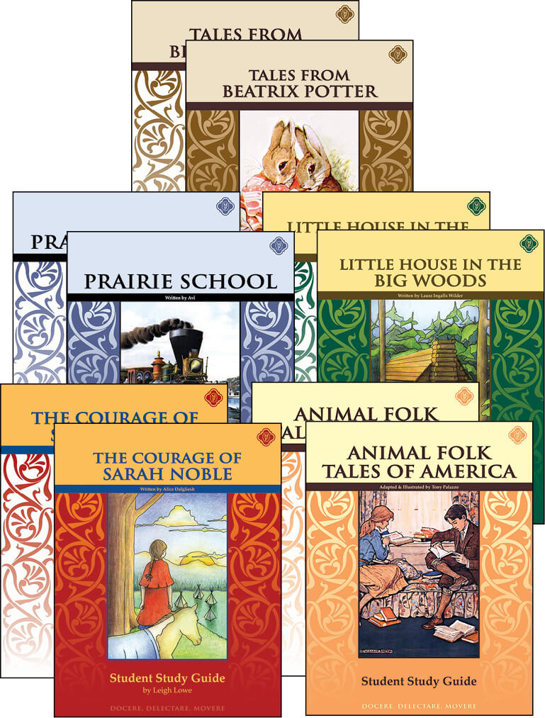 second grade literature guide set memoria press