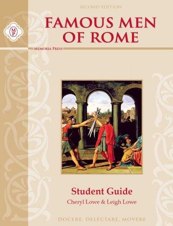 Famous Men of Rome Student