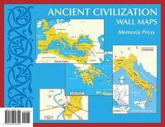 Ancient Civilization Wall Maps Small