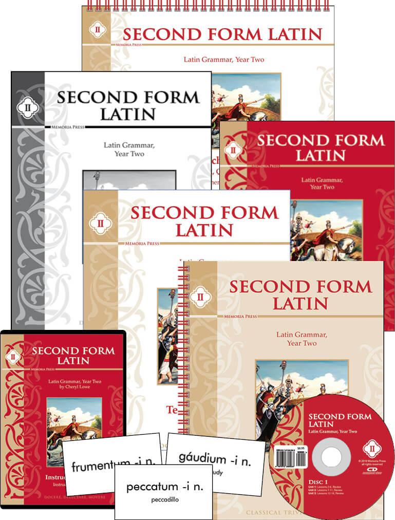 Second Form Latin Complete Set Memoria Press