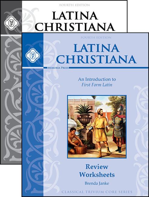 Latina Christiana I Review Worksheets Set | Memoria Press