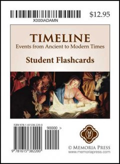 Timeline Flashcards