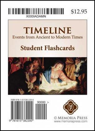 Timeline Flashcards