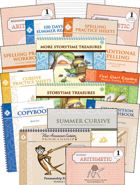 First Grade Consumable Curriculum