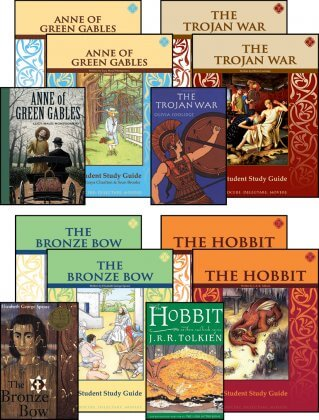 7th Grade LIterature Guide Set with Novels (updated)