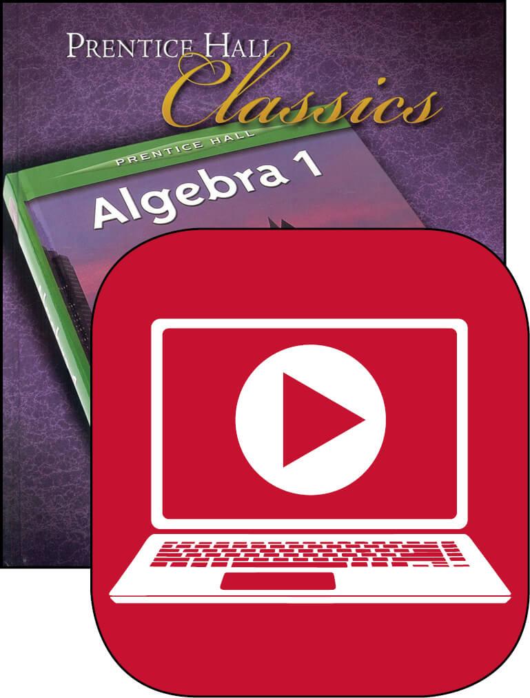 Algebra I Online Instructional Videos Streaming  Memoria Press Algebra I Online Istructional Lessons