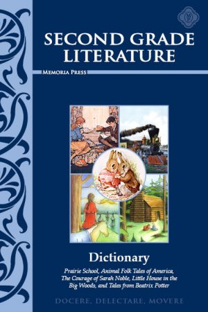Second Grade Literature Dictionary