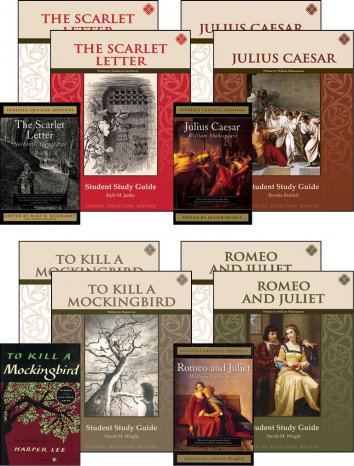 Tenth Grade Literature Guide Set with Novels