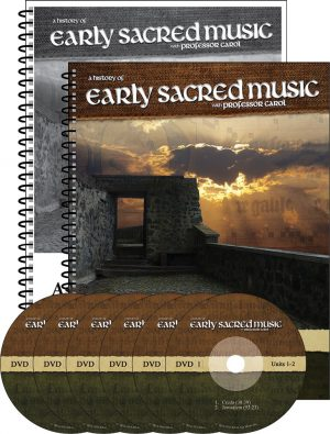 Early Sacred Music Set
