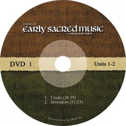 Early Sacred Music DVDs