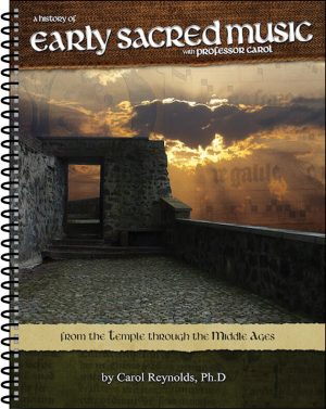 Early Sacred Music Text