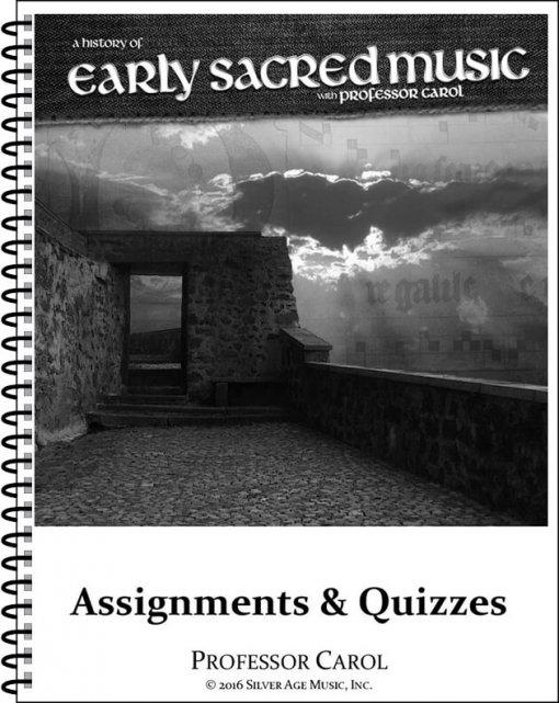 Early Sacred Music Workbook