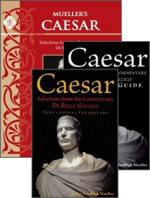 Mueller's Caesar De Bello Gallico Set