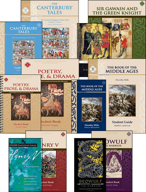 Middle School 3 Literature Texts for Online Academy