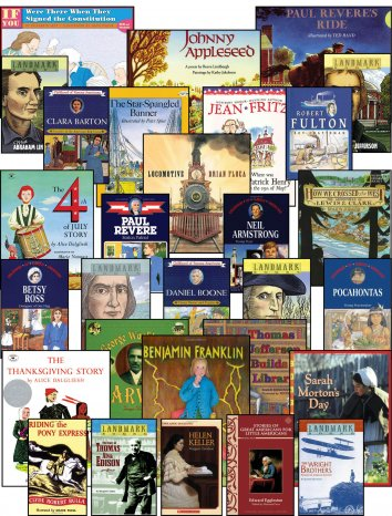 Level 3 American History Read-Aloud Set