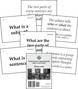 Writing & English Grammar | Memoria Press