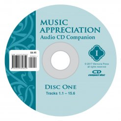 Music Appreciation I CD