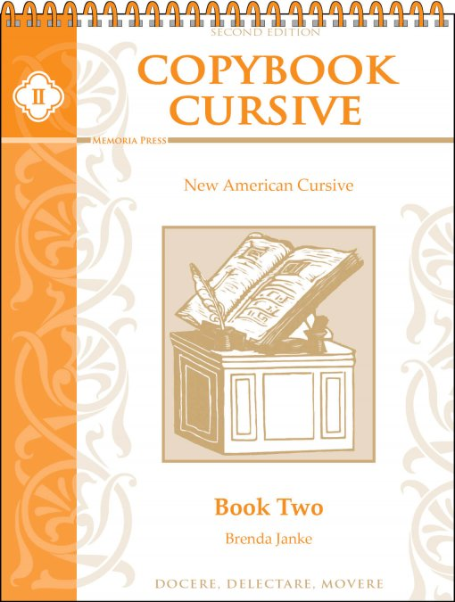 Copybook Cursive Book Two spiral (2nd ed)