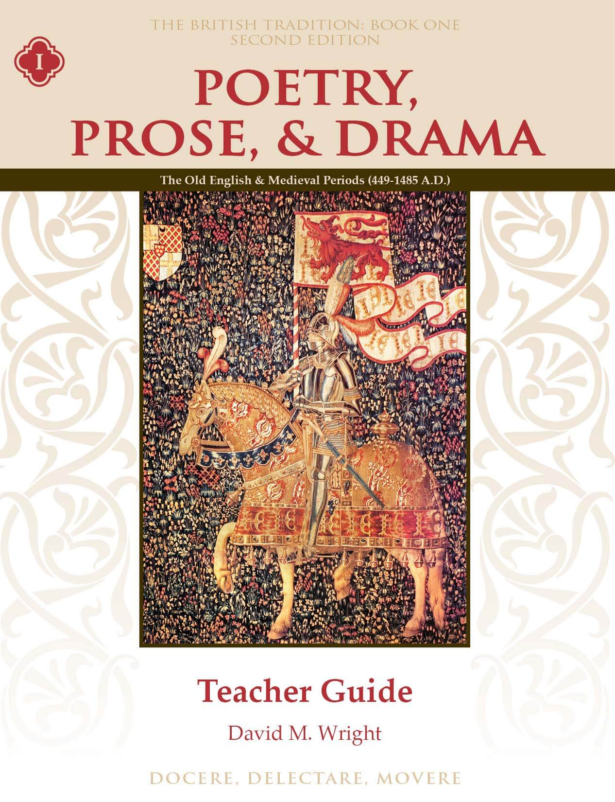 Poetry, Prose, & Drama Book One Teacher Guide, Second Edition