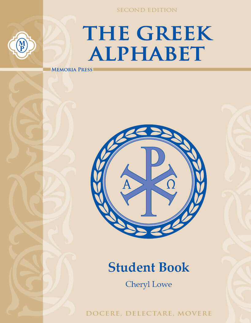 Greek Alphabet Student Book, Second Edition