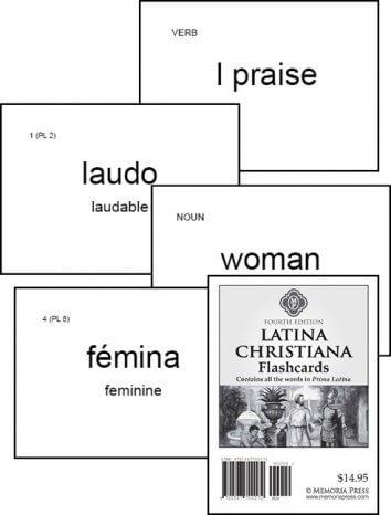 Prima Latina - Latina Christiana Flashcards