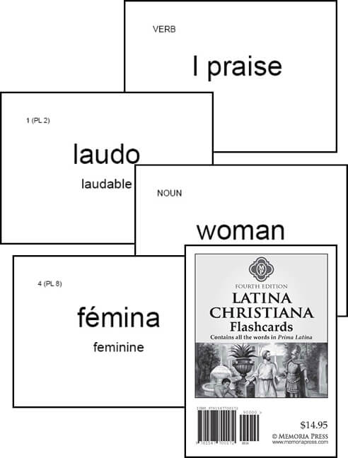 Prima Latina - Latina Christiana Flashcards