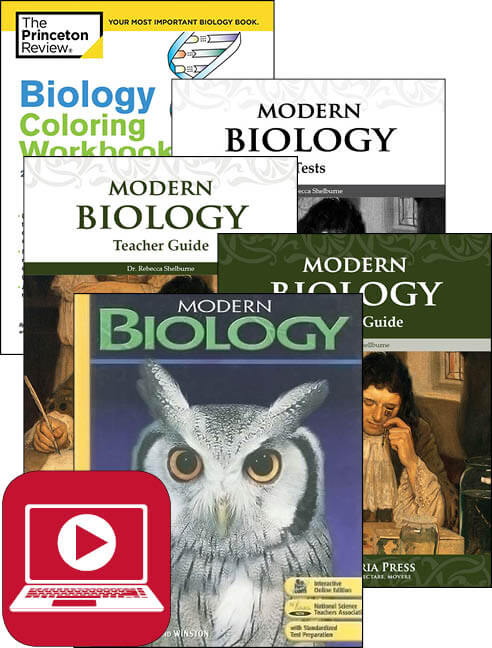 high school biology for homeschool