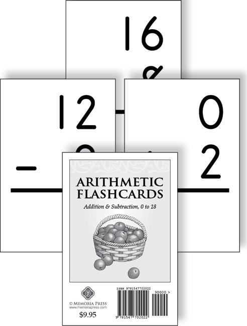 Arithmetic Flashcards