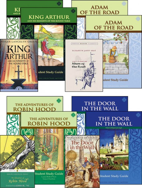 6th Grade Literature Guide Set with Novels