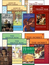 7th Grade LIterature Guide Set with Novels