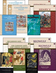 9th Grade Literature Guide Set with Novels
