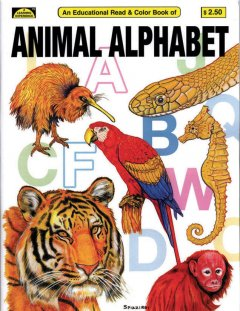 Animal Alphabet Coloring Book