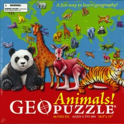 Animals! GEOpuzzle