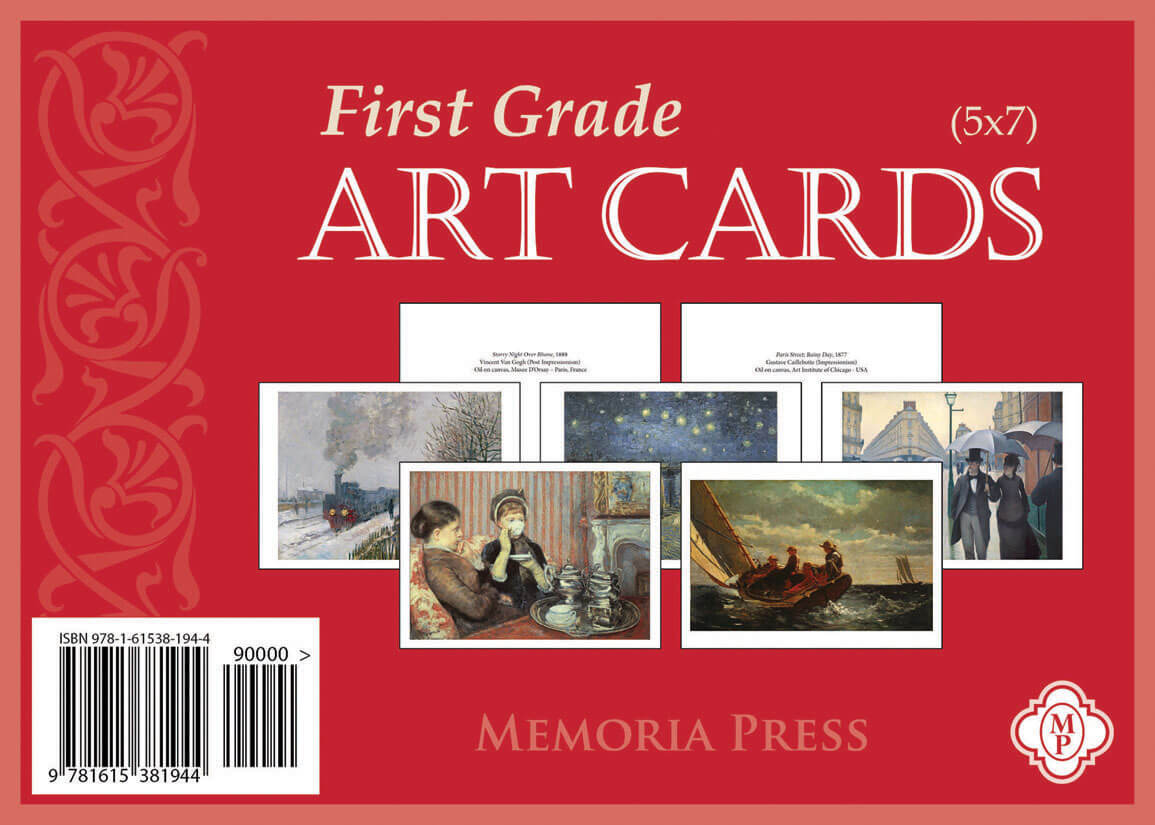 First Grade Art Cards