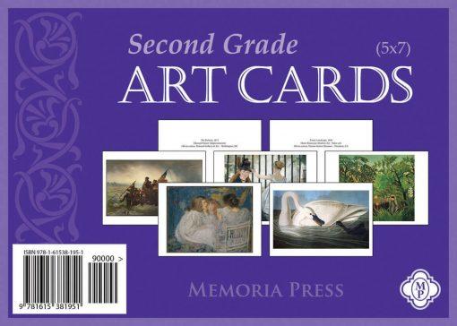 Second Grade Art Cards