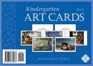 Kindergarten Art Cards