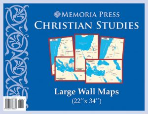Christian Studies Large Wall Maps