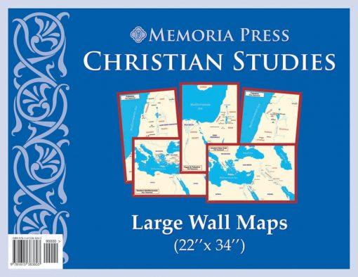 Christian Studies Large Wall Maps