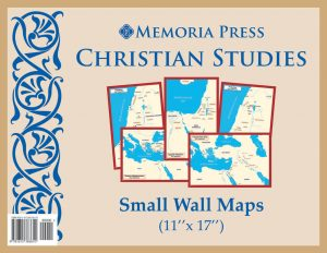 Christian Studies Small Wall Maps