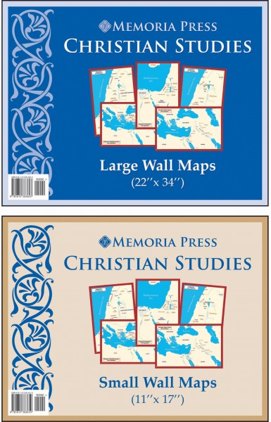 Christian Studies Wall Maps