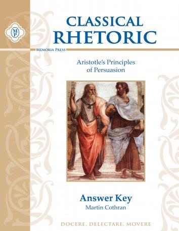 Classical Rhetoric Answer Key