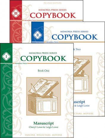 Copybooks I-III Set
