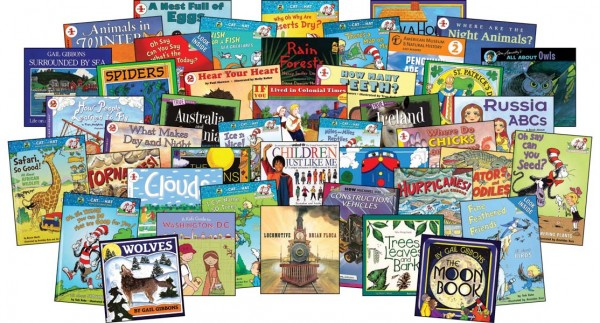 Science and enrichment books for first grade