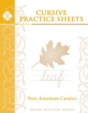 Cursive Practice Sheets