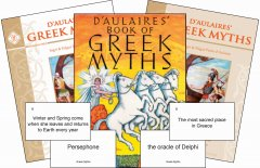 D'Aulaires' Greek Myths Set