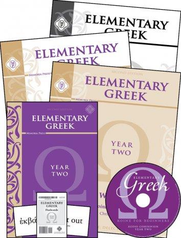 Elementary Greek Year 2 Complete Set