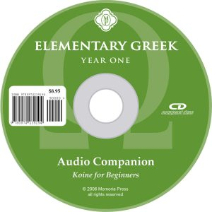 Elementary Greek Year 1 CD
